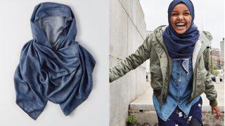 American Eagle Introduces Denim Hijab Along With Model Halima Aden
