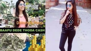 Dhinchak Pooja Releases New Song Baapu Dede Thoda Cash! Cringe-Pop Lyric Video is Very Different