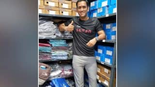 MS Dhoni Opens First Store Of Seven, His Fitness And Active Lifestyle Brand In Ranchi