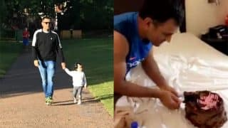 MS Dhoni Birthday: Cutting Cake With Wife Sakshi Dhoni And Taking A Walk With Ziva Is How He Celebrated His 36th Birthday!