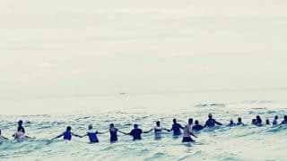 80 Strangers at Florida Beach Form Human Chain to Save Lives of 9 People