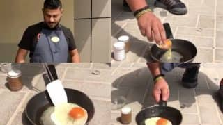Dubai man Cooks Omlette on Pavement! Video Showing Effects of High Temperature Goes Viral