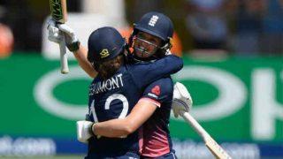 आईसीसी महिला वर्ल्ड कपः टेलर-ब्यूमोंट ने की 275 रन की रिकॉर्ड साझेदारी, इंग्लैंड ने दक्षिण अफ्रीका को 68 रन से दी मात