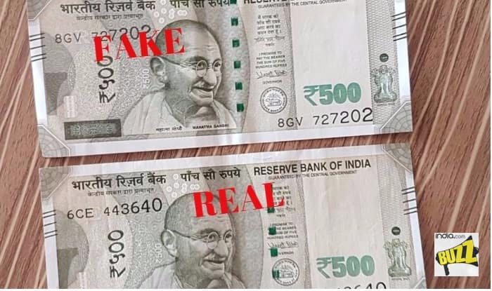 notes print in india