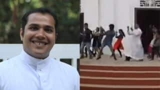 This Kerela Priest's dance moves has set the internet on fire (Watch video)