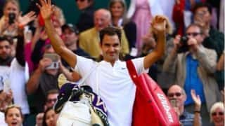 Wimbledon 2017: Roger Federer Beats Milos Raonic in Straight Sets to Qualify For Semi-finals