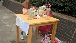 Five-Year-Old Girl Fined Rs.12500 For Lemonade Stand in London, United Kingdom