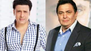 Govinda Is Thankful To Rishi Kapoor For Lashing Out At Anurag Basu