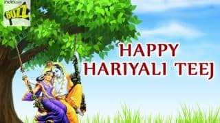 Happy Hariyali Teej 2017 Wishes: Best Messages, Quotes, WhatsApp GIF & Greetings to Celebrate Sawan Month Festival
