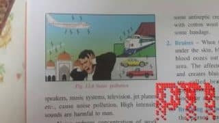 ICSE Textbook Sparks Row After Mosque Depicted as Noise Pollutant