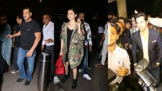 IIFA 2017: Salman Khan, Alia Bhatt, Varun Dhawan Are Super Excited As They Leave For New York (View Pics)