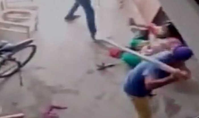 Woman beaten up
