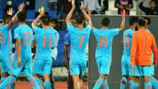 भारतीय फुटबॉल टीम का कमाल,  दो दशक की अपनी सर्वश्रेष्ठ फीफा रैंकिंग पर पहुंची