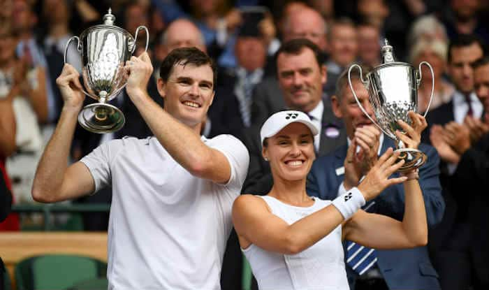 Jamie Murray and Martina Hingis win Wimbledon mixed doubles crown