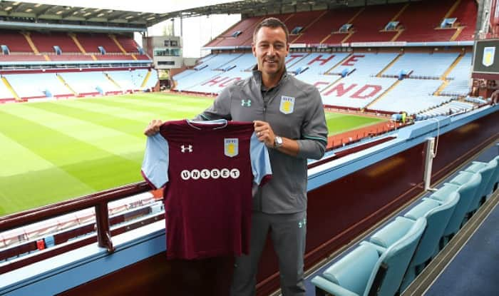 John Terry completes free transfer to Aston Villa