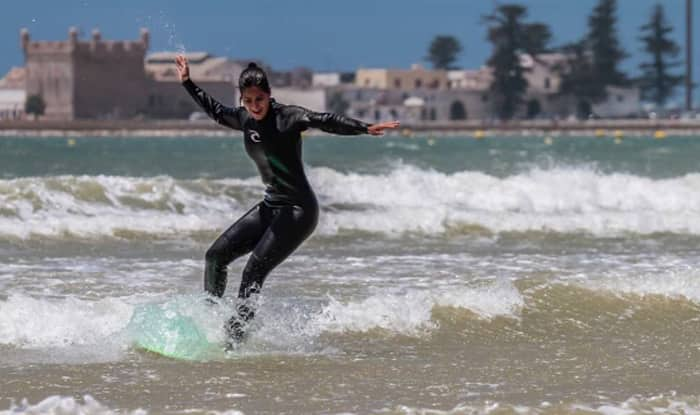Tiger Zinda Hai: Katrina Kaif goes surfing in Morocco