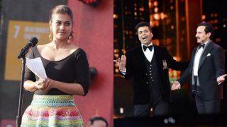 IIFA 2017: Kajol REACTS To Karan Johar- Kangana Ranaut's Nepotism Controversy