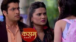 Kasam Tere Pyaar Ki 29 December 2017 Written Update Of Full Episode: Tanuja Leaves The Mehendi Ceremony To Meet Rishi