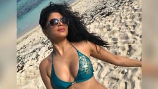 Kavita Kaushik Poses In A Sexy Blue Bikini With A Message That Every Troll Should Read