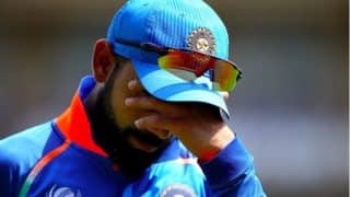 Virat Kohli Reckons India Were 30-40 Runs Short in the First ODI Against New Zealand