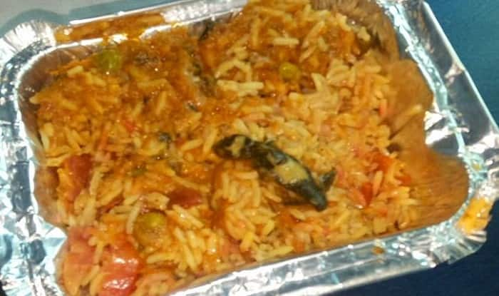 Dead Lizard In Veg Biryani Served On Purva Express Train