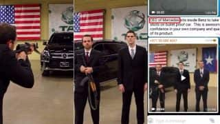 CEO of Texas Armoring Corporation Wrongly Called CEO of Mercedes in an Old Viral Video Testing Benz's Bullet Proof Car with an AK-47
