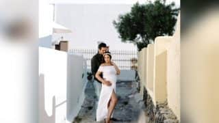 Esha Deol And Bharat Takhtani's Maternity Photoshoot From Their Grecian Babymoon Is Pure Magic - View Pics