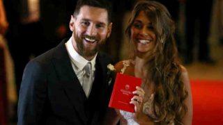 महान फुटबॉलर लियोनेल मेसी बंधे विवाह के बंधन में, देखें 'वेडिंग ऑफ द सेंचुरी' की तस्वीरें