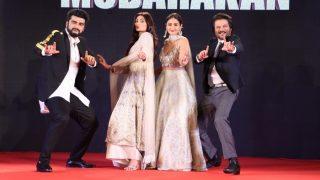 Mubarakan Family Arjun Kapoor, Anil Kapoor, Ileana D'Cruz And Athiya Shetty Throw A Funfilled Sangeet Night - View Pics