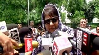 Mehbooba Mufti Welcomes Centre's Move to Start Dialogue With All Stakeholders in Jammu And Kashmir
