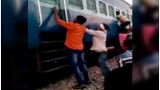 मुस्लिम परिवार पर ट्रेन में भीड़ ने किया हमला, रॉड से पीटा, सांप्रदायिक टिप्पणी भी की