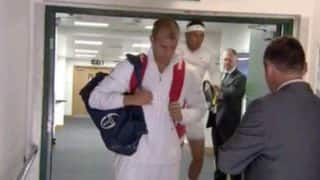 Wimbledon 2017: When Rafael Nadal Banged His Head Ahead of Gilles Muller Clash, Watch Video