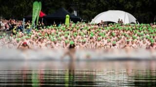Naked Swimmers Break World Record for Mass Skinny Dipping! 789 People go Nude at Ilosaarirock Music Festival in Finland