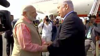 Benjamin Netanyahu Bids Adieu to His 'Dost' Narendra Modi as PM Leaves for Germany to Attend G 20 Summit