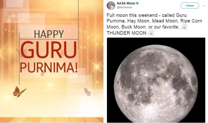NASA just tweeted about Guru Purnima and Indians can't keep calm