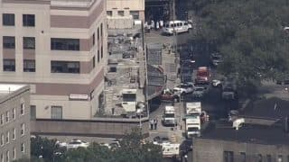 Multiple people shot inside New York City hospital by a man wearing doctor's coat