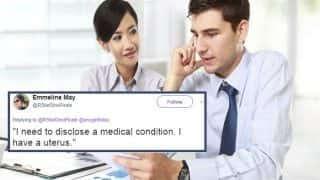 Woman's Period Pain Called 'Unprofessional' by HR as it Made A Guy 'Uncomfortable'! Twitter Bleeds at the Response