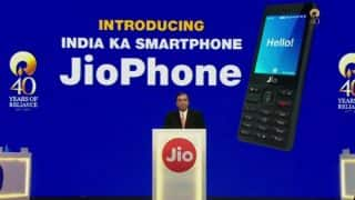 JioPhone Pre-Booking to Begin on August 24: Here's How You Can Order it