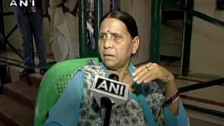 Quit NDA if You Don't Like Pragya Thakur's Comments: Rabri Devi Advises Nitish Kumar