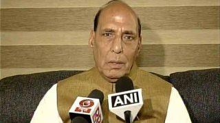Rajnath Singh Addresses BJP's Gujarat Gaurav Yatra, Says No Power Can Stop Resolution of Kashmir Issue