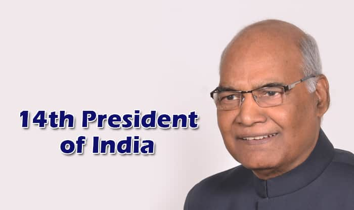 Image result for Ram Nath Kovind India's 14th President