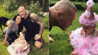 WWE Champion Randy Orton's Photos With 8-Month-Old Daughter Brooklyn Will Make You Go Aww! View Pics