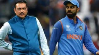 Amidst Rumors Ravi Shastri's Name As Head Coach Of Indian Cricket Team Floats, Twitterati Turn Brutal Against Him And Virat Kohli