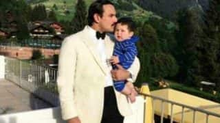 Saif Ali Khan Kissing Baby Taimur On The Forehead Is The Cutest Thing You'll See Today