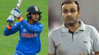 Smriti Mandhana compared to Virender Sehwag for her ICC Women's World Cup 2017 Innings: Viru tweets his reactions