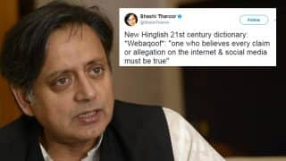 'Webakoof', New Word Shared By Shashi Tharoor, Twitter Loves It After 'Farrago'!