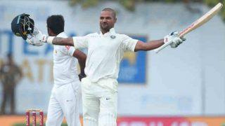 गॉल टेस्ट: शिखर धवन ने तोड़ा सचिन का रिकॉर्ड, टीम इंडिया ने रचे नए इतिहास