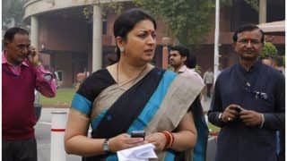 Gujarat Rajya Sabha Election Results: Smriti Irani Wins Upper House Poll