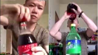 Chinese Man Drinks Several Litres of Soda in Just Over 1 minute in Viral Facebook Video, Netizens Predict Diabetes for him