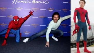 Spider-Man: Homecoming star Tom Holland is awed by Tiger Shroff! Watch Video